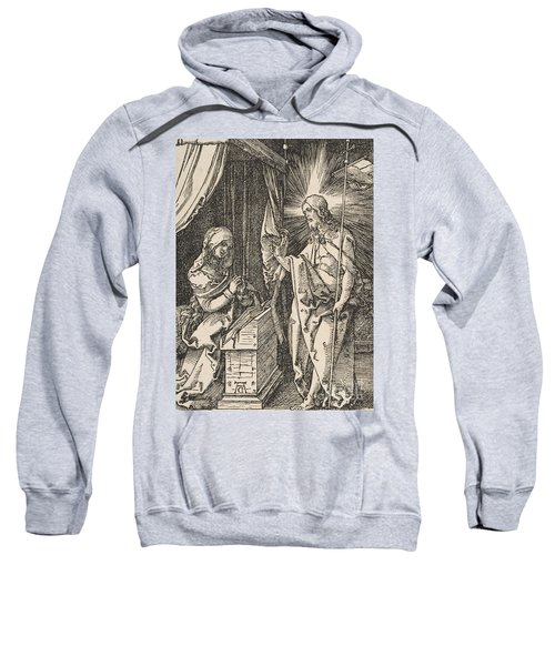 Christ Appearing To His Mother, From The Small Passion Sweatshirt