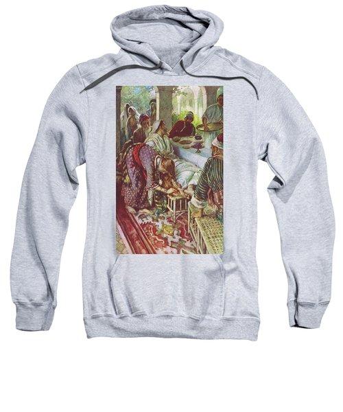 Christ In The Pharisee's House Sweatshirt
