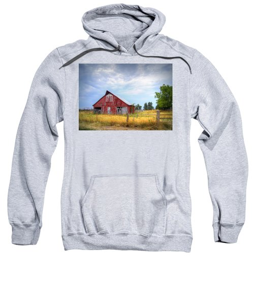 Christian School Road Barn Sweatshirt