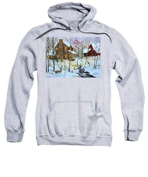 Christmas Cabin Sweatshirt