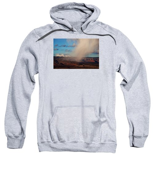 Christmas Day Snow Mix San Francisco Peaks Sweatshirt