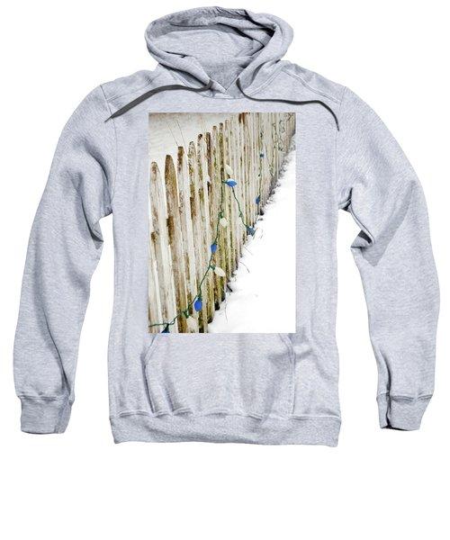 Christmas Fence Sweatshirt