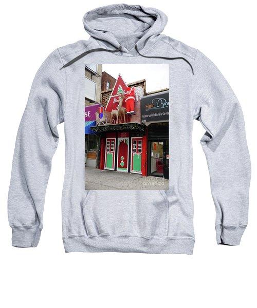 Christmas On Sherman Avenue  Sweatshirt by Cole Thompson