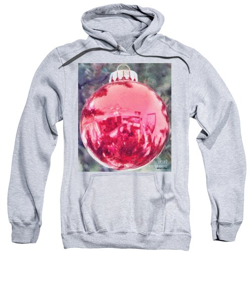 Christmas Reflected Sweatshirt