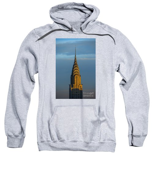 Chrysler Building In The Evening Light Sweatshirt