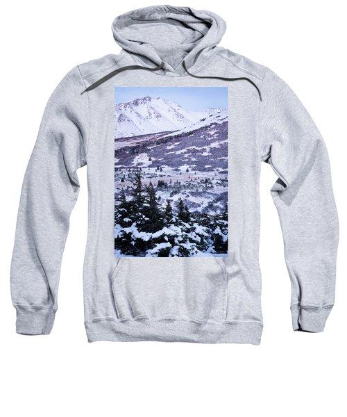 Chugach In Alpenglow Sweatshirt