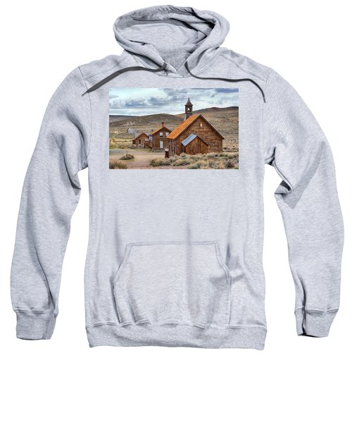 Church At Bodie Ghost Town Sweatshirt