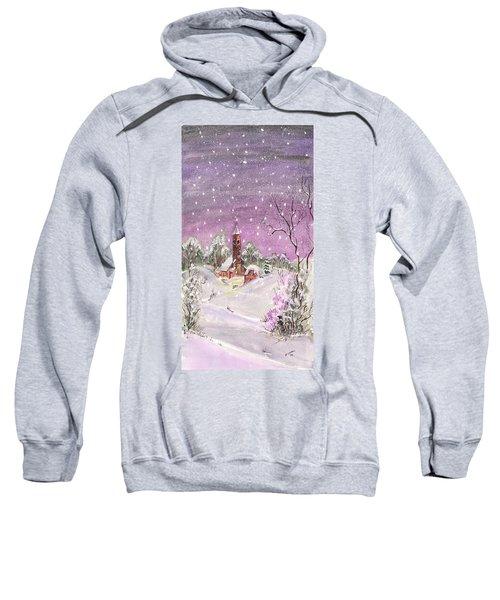 Church In The Snow Sweatshirt