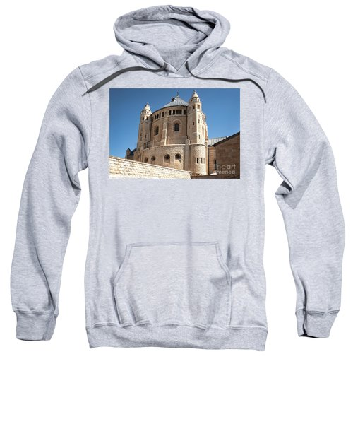 Sweatshirt featuring the photograph Church Of The Dormition by Mae Wertz