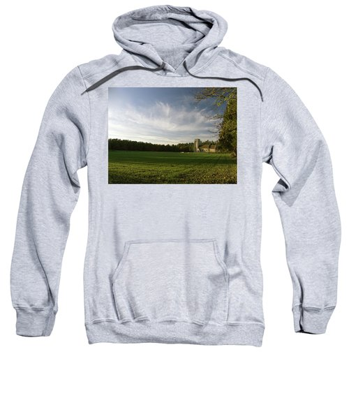 Church On The Edge Of A Forest Sweatshirt