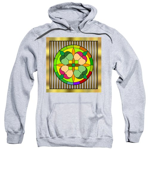 Circle On Bars 2 Sweatshirt