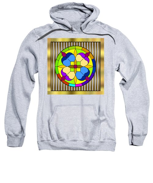 Circle On Bars 3 Sweatshirt