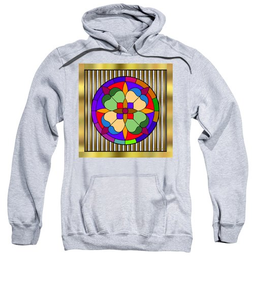 Circle On Bars 4 Sweatshirt