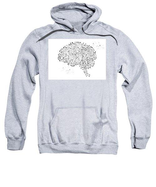 Circuit Board Brain 6 Sweatshirt
