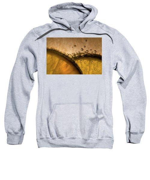 Citrus Abstract Sweatshirt