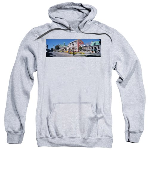 Cityscape Montreal Quebec Canada Sweatshirt