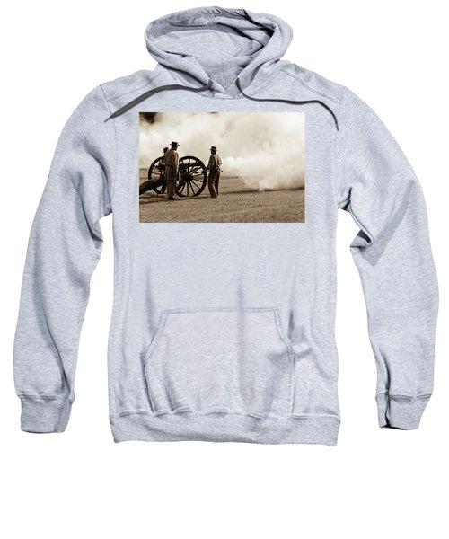 Civil War Era Cannon Firing  Sweatshirt