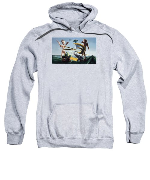 Civilization Found Intact Sweatshirt
