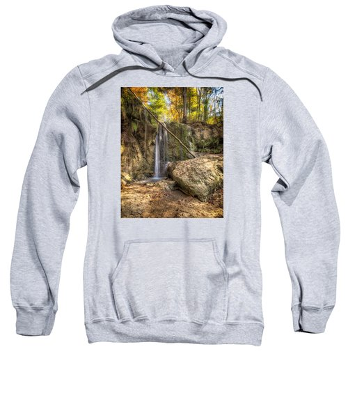 Clark Creek Nature Area Waterfall No. 1 Sweatshirt