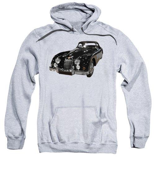 Classic Jaguar In Black Art Sweatshirt