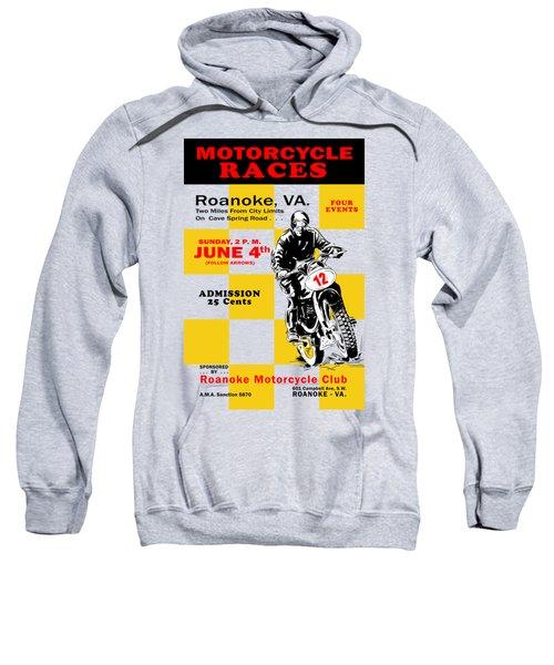Classic Motorcycle Races Roanoke Virginia Sweatshirt