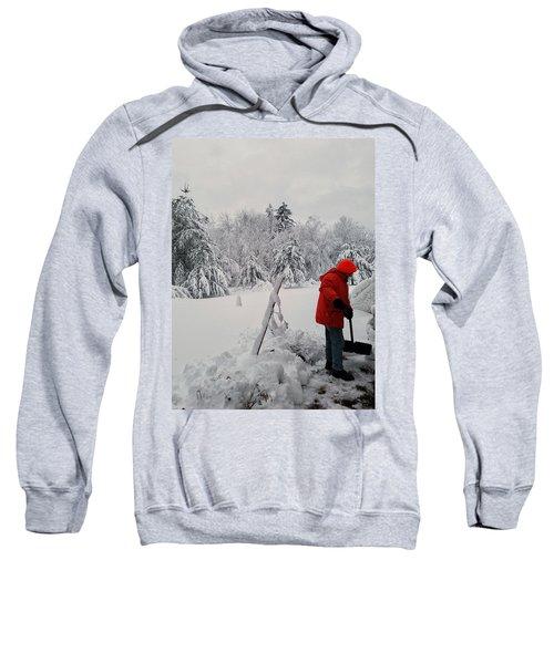 Clearing A Path Sweatshirt