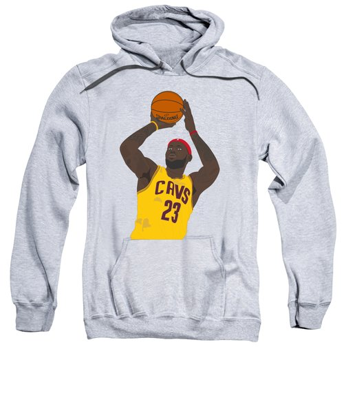 Cleveland Cavaliers - Lebron James - 2014 Sweatshirt by Troy Arthur Graphics