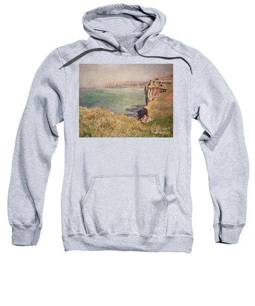 Cliff At Varengeville Sweatshirt