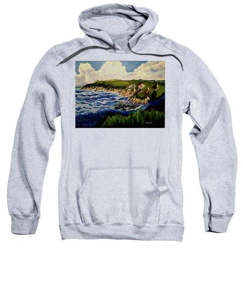 Cliffs And Sea Sweatshirt