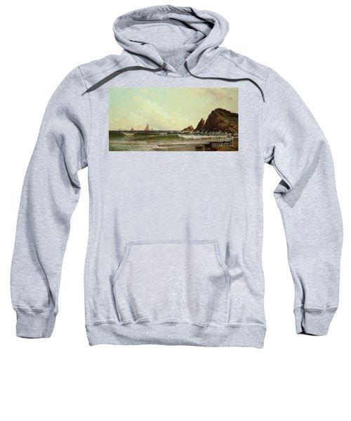 Cliffs At Cape Elizabeth Sweatshirt