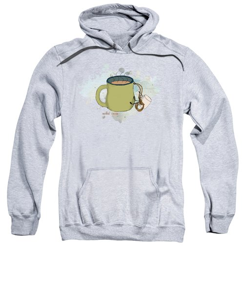 Climbing Mt Cocoa Illustrated Sweatshirt