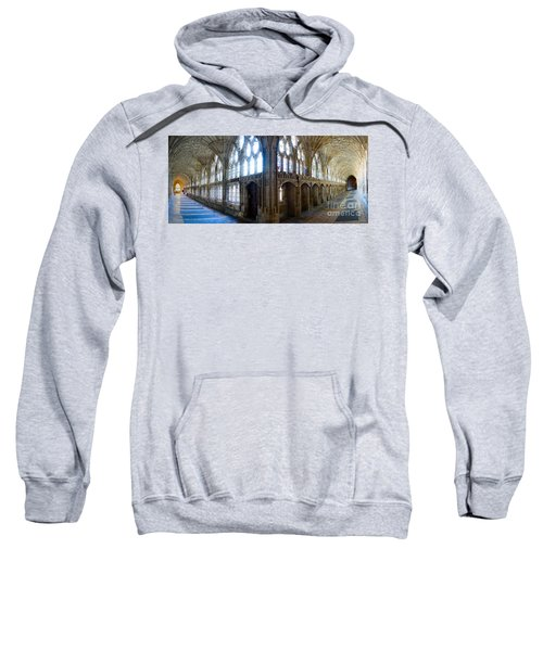 Cloisters, Gloucester Cathedral Sweatshirt