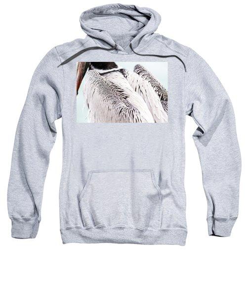 Close-up Of Brown Pelican Sweatshirt