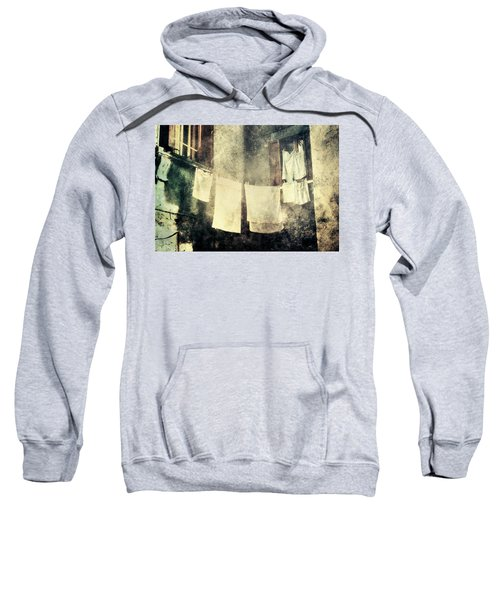 Clothes Hanging Sweatshirt