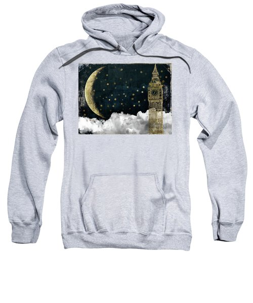 Cloud Cities London Sweatshirt by Mindy Sommers