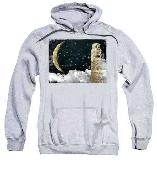 Cloud Cities Pisa Italy Sweatshirt by Mindy Sommers