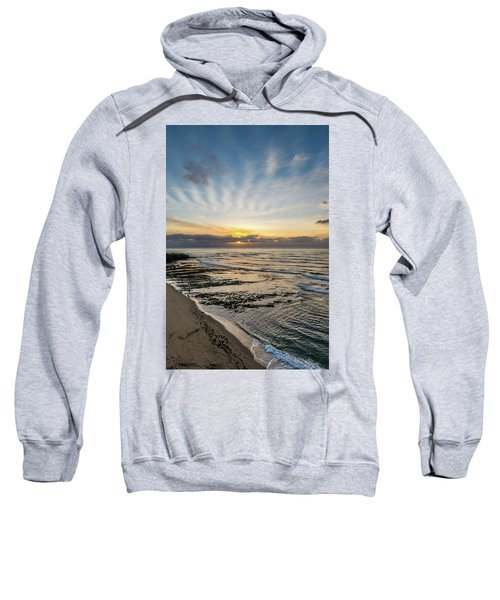 Cloud Rays Vertical Sweatshirt