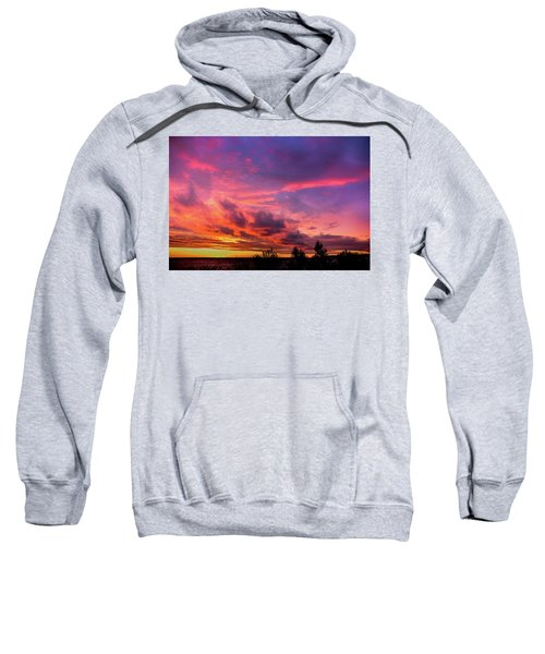 Clouds At Sunset Sweatshirt