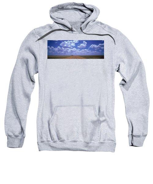 Clouds Over Prairie Amarillo Tx Sweatshirt