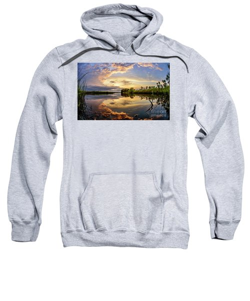 Clouds Reflections Sweatshirt