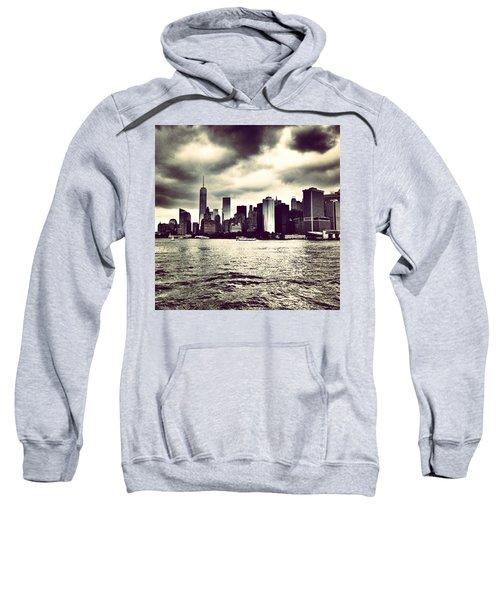 Cloudy Day In #nyc Sweatshirt