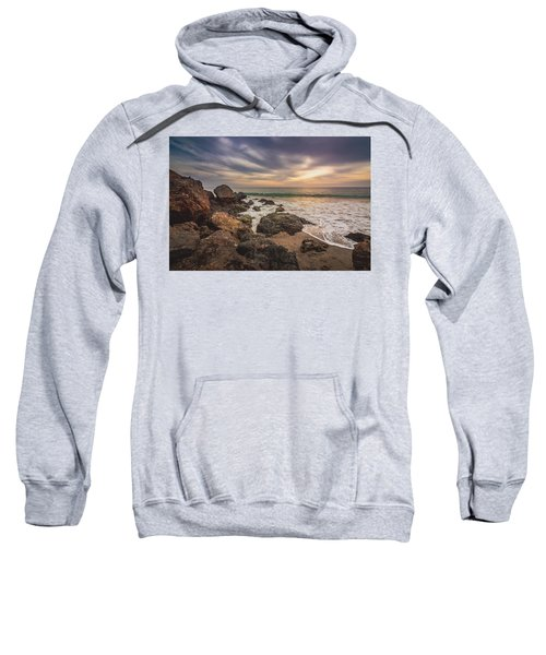 Cloudy Point Dume Sunset Sweatshirt
