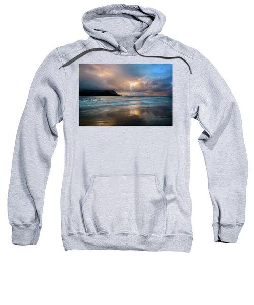 Cloudy Sunset At Hanalei Bay Sweatshirt