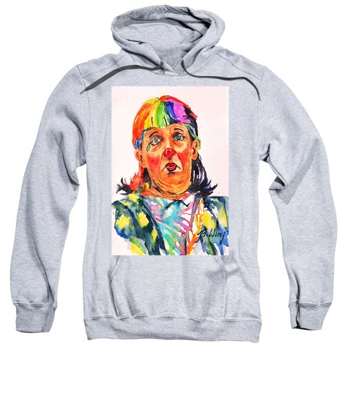 Clown Series Oh No  Sweatshirt