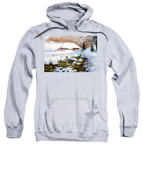 Clubhouse In Winter Sweatshirt