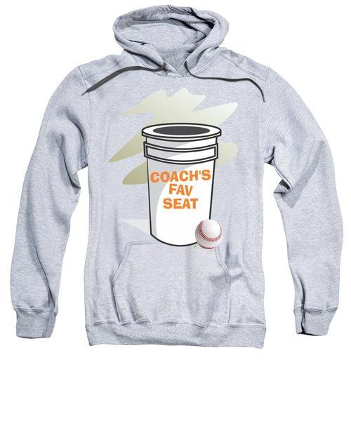 Coach's Favorite Seat Sweatshirt by Jerry Watkins