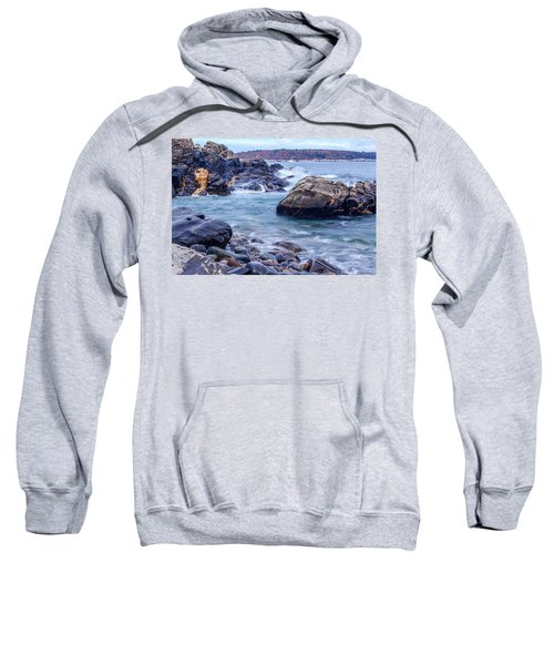 Coast Of Maine In Autumn Sweatshirt