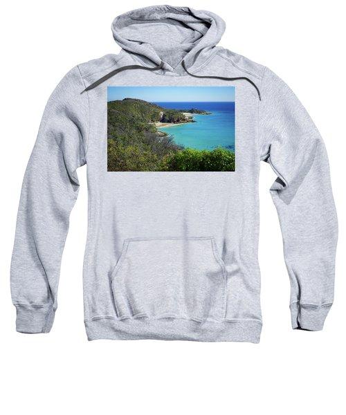 Coastline Views On Moreton Island Sweatshirt