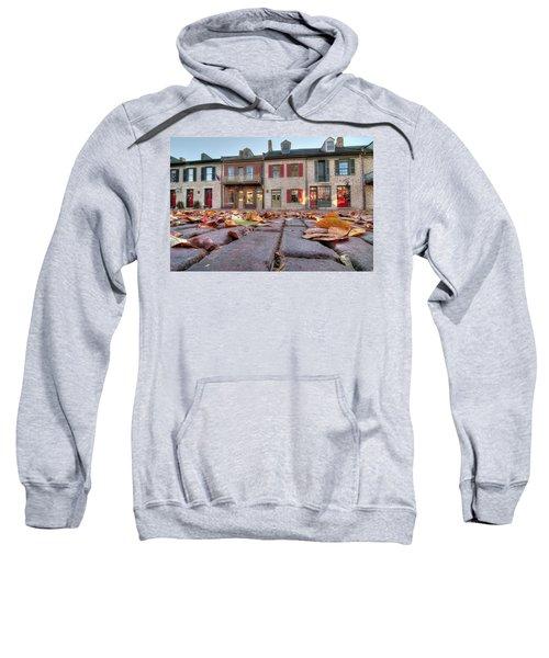 Cobblestone And Leaves Sweatshirt