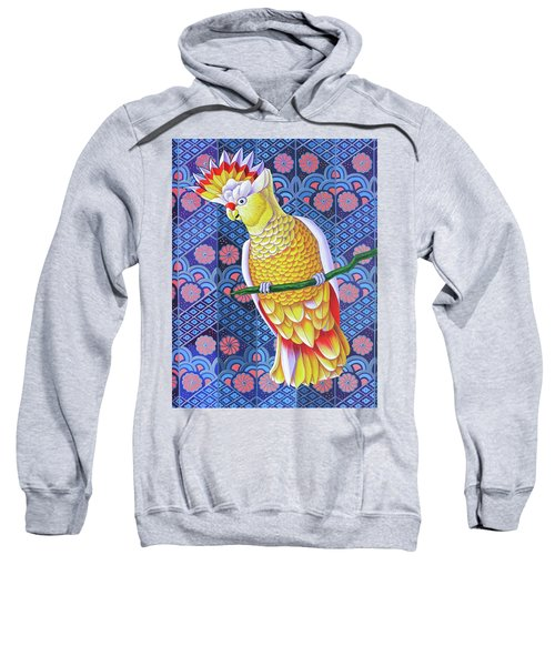 Cockatoo Sweatshirt by Jane Tattersfield